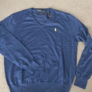 Men's Ralph Lauren polo V neck sweater